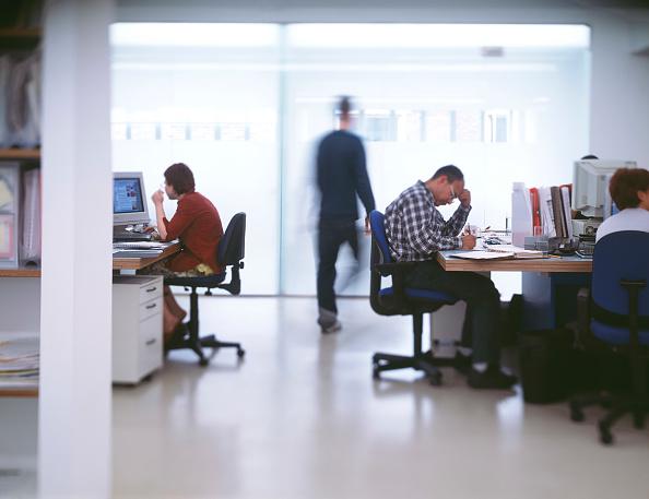 Open Plan「Modern open plan office space.」:写真・画像(5)[壁紙.com]