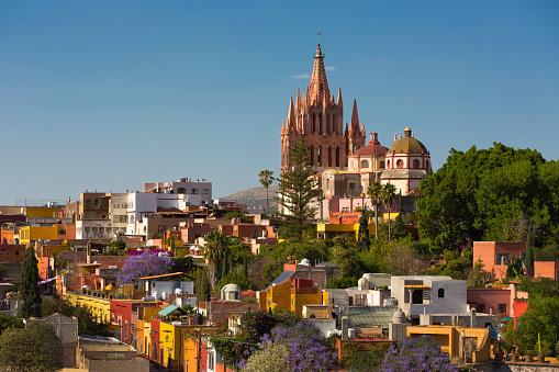 Cathedral「Colonial city of San Miguel de Allende, Mexico」:スマホ壁紙(15)