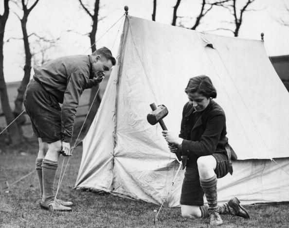Camping「Pitching Camp」:写真・画像(6)[壁紙.com]