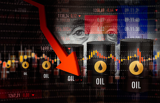 Financial Report「Oil Prices Moving Down」:スマホ壁紙(9)