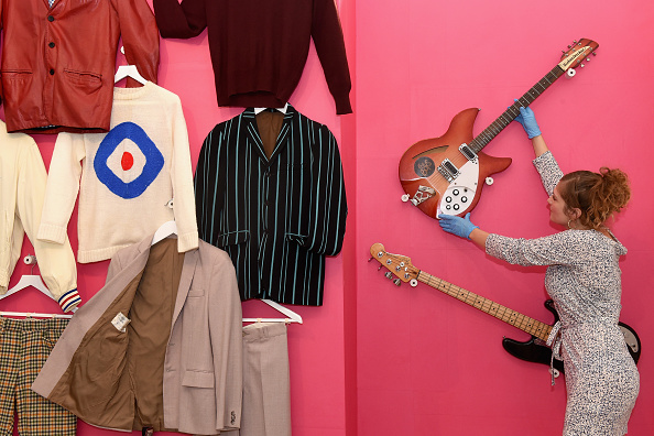 Musical instrument「Somerset House Opens Major Exhibition, The Jam: About The Young Idea - Press Preview」:写真・画像(6)[壁紙.com]
