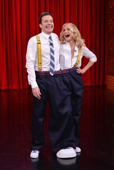 """Mike Coppola「Cameron Diaz And Ralph Fiennes Visit """"The Tonight Show Starring Jimmy Fallon""""」:写真・画像(9)[壁紙.com]"""