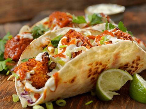 Chicken Wing「Crispy Baked Buffalo Wing Cauliflower Tacos」:スマホ壁紙(14)