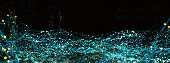 Big Data「Abstract Digital network communication」:スマホ壁紙(17)