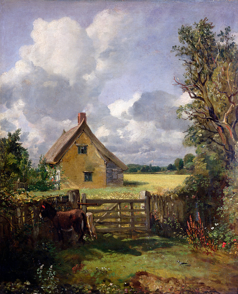 Painting - Activity「Cottage In A Cornfield' 1833」:写真・画像(10)[壁紙.com]