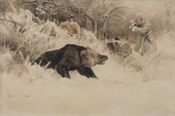 Painting - Activity「The Bear Hunt.」:写真・画像(2)[壁紙.com]