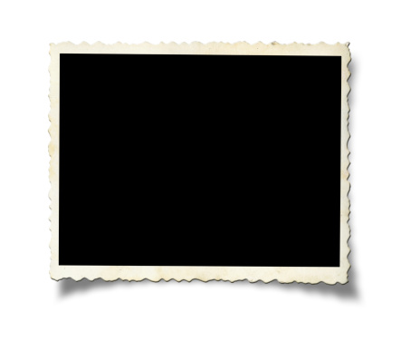 Nostalgia「Blank old photo paper」:スマホ壁紙(15)