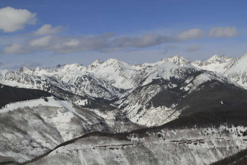 ゴア山地「Gore Range, Dillon, Colorado, in winter」:スマホ壁紙(7)