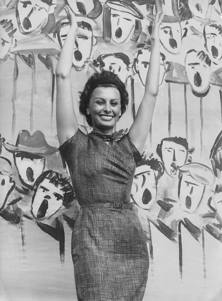Painting - Activity「Sophia Loren」:写真・画像(5)[壁紙.com]
