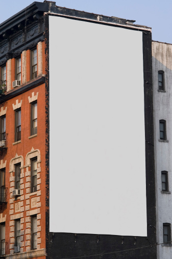 Commercial Sign「Advertising Billboard  Space in Manhattan New York」:スマホ壁紙(7)