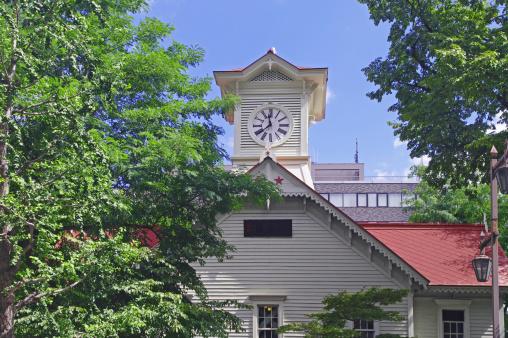Hokkaido「Sapporo Clock Tower」:スマホ壁紙(16)