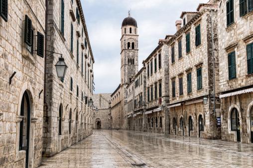 Croatia「The main street located in the town of Dubrovnik, Croatia 」:スマホ壁紙(18)