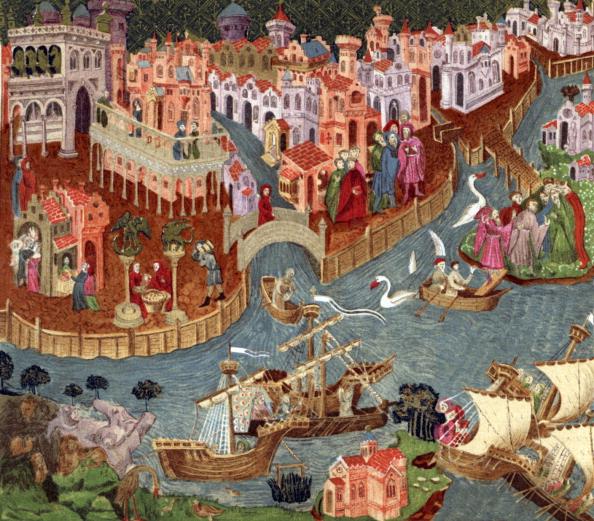 Medieval「Venice in 1338」:写真・画像(15)[壁紙.com]