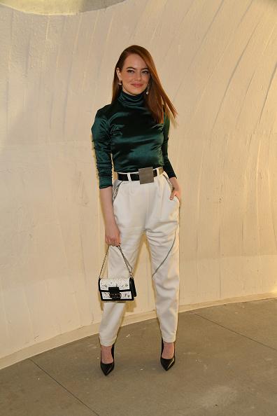 Emma Stone「Louis Vuitton Cruise 2020 Fashion Show」:写真・画像(14)[壁紙.com]
