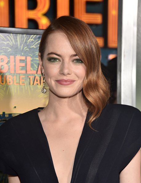 """Emma Stone「Premiere Of Sony Pictures' """"Zombieland Double Tap"""" - Red Carpet」:写真・画像(8)[壁紙.com]"""
