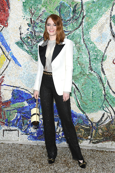 Emma Stone「Louis Vuitton 2019 Cruise Collection : Photocall」:写真・画像(0)[壁紙.com]