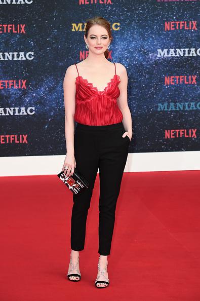 "Emma Stone「Netflix Presents The World Premiere Of ""Maniac"" - Red Carpet Arrivals」:写真・画像(5)[壁紙.com]"
