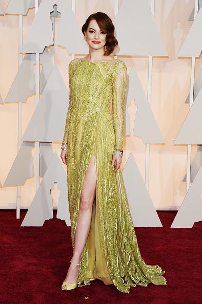Slit - Clothing「87th Annual Academy Awards - Arrivals」:写真・画像(1)[壁紙.com]