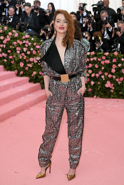 Emma Stone「The 2019 Met Gala Celebrating Camp: Notes on Fashion - Arrivals」:写真・画像(16)[壁紙.com]