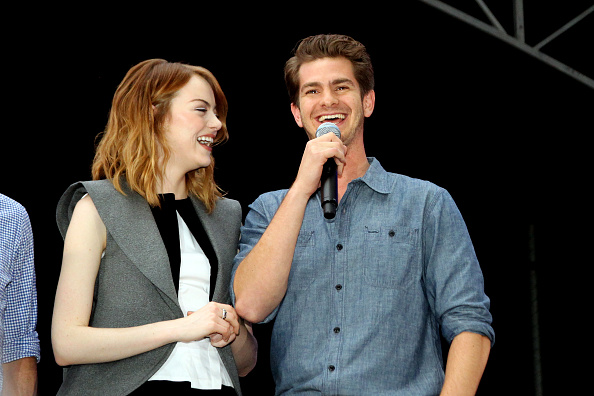 Emma Stone「Earth Hour Kick-Off With Spider-Man, The First Super Hero Ambassador For Earth Hour, The Global Movement Organized By WWF (World Wide Fund For Nature)」:写真・画像(14)[壁紙.com]