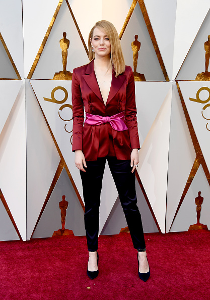 Emma Stone「90th Annual Academy Awards - Arrivals」:写真・画像(12)[壁紙.com]
