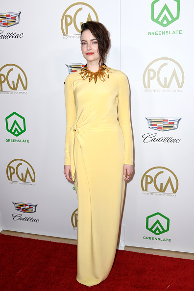 Emma Stone「30th Annual Producers Guild Awards  - Arrivals」:写真・画像(15)[壁紙.com]