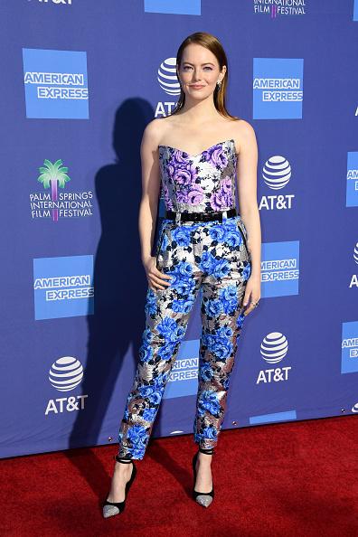 Emma Stone「30th Annual Palm Springs International Film Festival Film Awards Gala - Arrivals」:写真・画像(11)[壁紙.com]