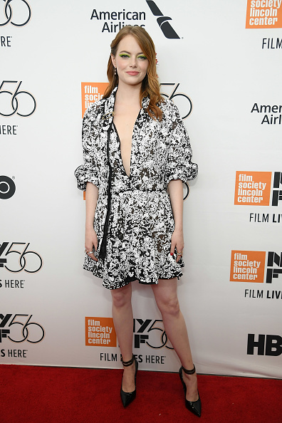"""Emma Stone「56th New York Film Festival - Opening Night Premiere Of """"The Favourite"""" - Arrivals」:写真・画像(7)[壁紙.com]"""