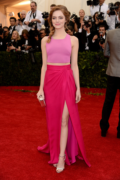 "Emma Stone「""Charles James: Beyond Fashion"" Costume Institute Gala - Arrivals」:写真・画像(6)[壁紙.com]"