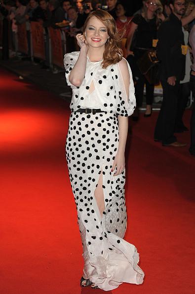 Emma Stone「The Help - UK Premiere」:写真・画像(1)[壁紙.com]