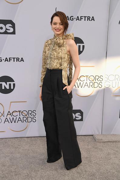 Emma Stone「25th Annual Screen ActorsGuild Awards - Arrivals」:写真・画像(4)[壁紙.com]