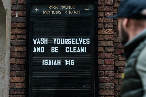 Church「New York City On Edge As Coronavirus Spreads」:写真・画像(4)[壁紙.com]