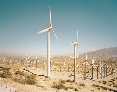 Climate Change「Wind farm」:スマホ壁紙(9)