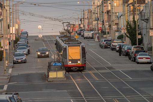 Zero「San Francisco lightrail at Sunset District」:スマホ壁紙(3)