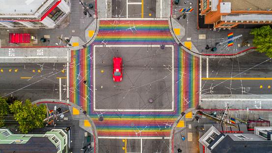 Road Marking「San Francisco Castro District」:スマホ壁紙(6)