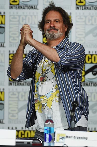 "David Silverman「Comic-Con International 2015 - ""The Simpsons"" Panel」:写真・画像(18)[壁紙.com]"
