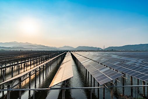 Power Equipment「Outdoor photovoltaic power generation scene」:スマホ壁紙(9)