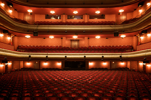 Entertainment Event「Theater interior: empty classical theater」:スマホ壁紙(8)