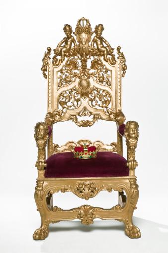Crown - Headwear「Kings crown sitting on throne」:スマホ壁紙(11)