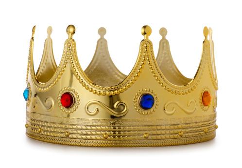 Crown - Headwear「Kings Crown on White」:スマホ壁紙(0)