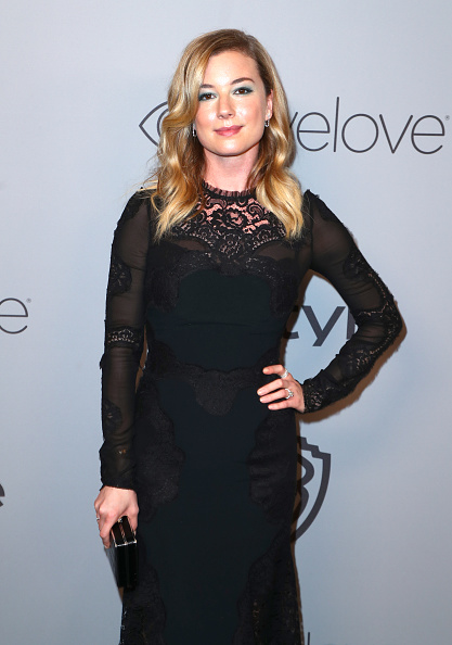 Emily VanCamp「The 2018 InStyle And Warner Bros. 75th Annual Golden Globe Awards Post-Party - Red Carpet」:写真・画像(7)[壁紙.com]