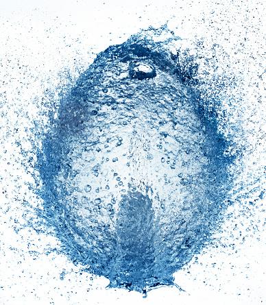 Splashing Droplet「Water ball, water explosion, water flower」:スマホ壁紙(3)