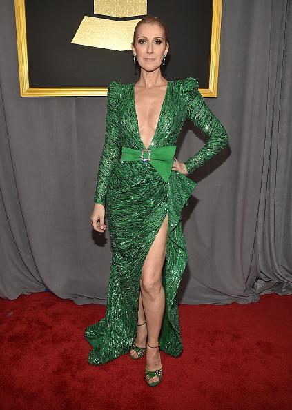 Green Color「The 59th GRAMMY Awards - Red Carpet」:写真・画像(10)[壁紙.com]