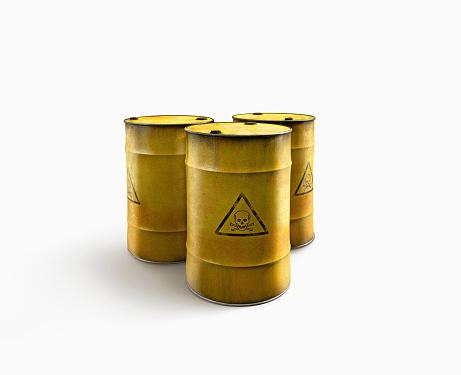 Poisonous「Barrels of toxic waste」:スマホ壁紙(8)