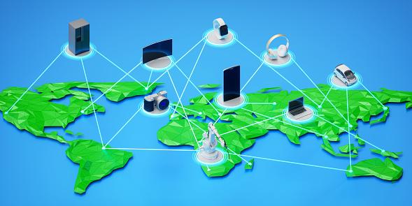 Big Data「Internet Of Things Fourth Industiral Revolution」:スマホ壁紙(1)