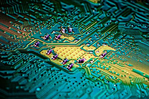 Circuit Board「Circuitry」:スマホ壁紙(10)
