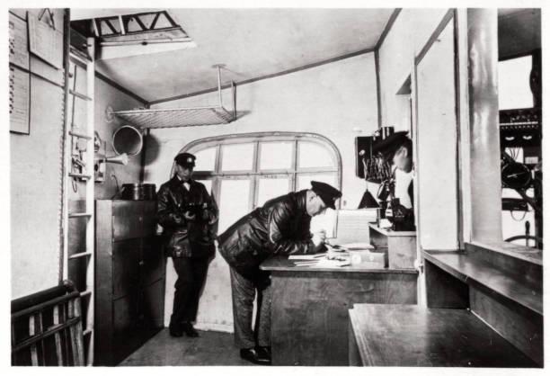 Loading Provisions, Zeppelin LZ 127 Graf Zeppelin, 1933 Giclee Print | Art.com