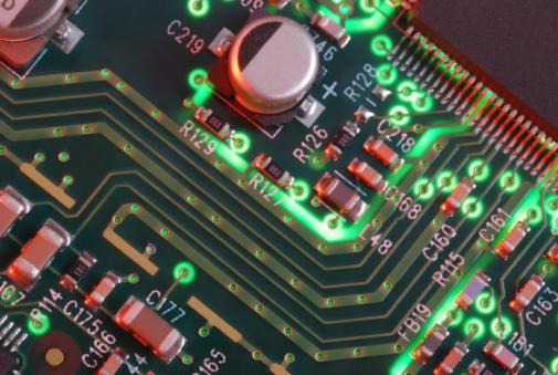 Soldered「Closeup Computer Circuit Board」:スマホ壁紙(14)