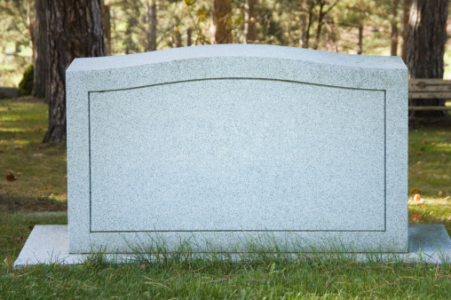 Identity「Blank Cemetery Headstone Close Up, No Name」:スマホ壁紙(3)