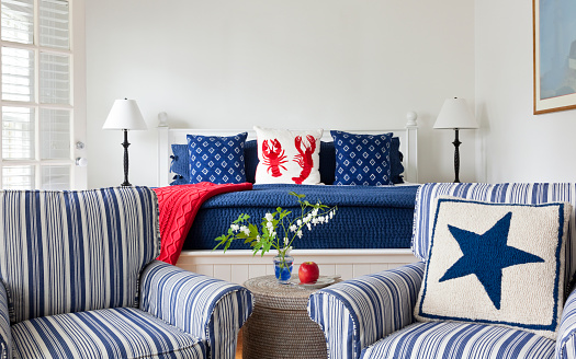 Home Interior「Maine Bedroom」:スマホ壁紙(2)
